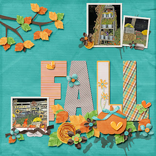 Creative Team, Annemarie, for GingerScraps - Autumn Fresh by Craft-tastrophic for Template Challenge 2  and Freebie