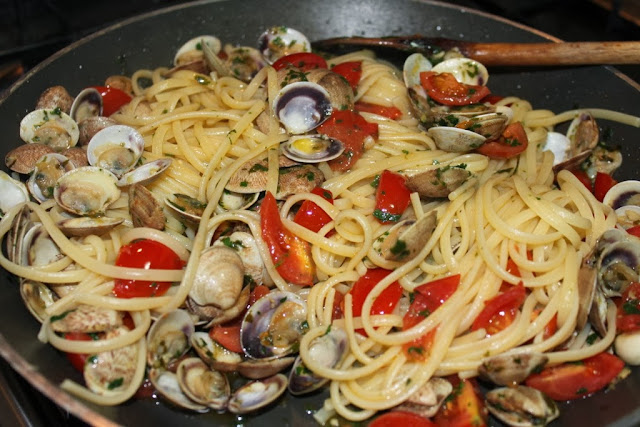 Clam Sauce with the Chef Mama Isa - recipe of the day