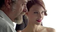 La bella ballerina o modella dello spot fiorentini con il regista Fabrizio Notari
