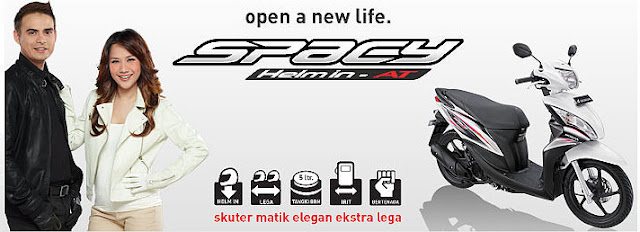 Honda Spacy Helm In AT - Skutik Elegan Extra Lega
