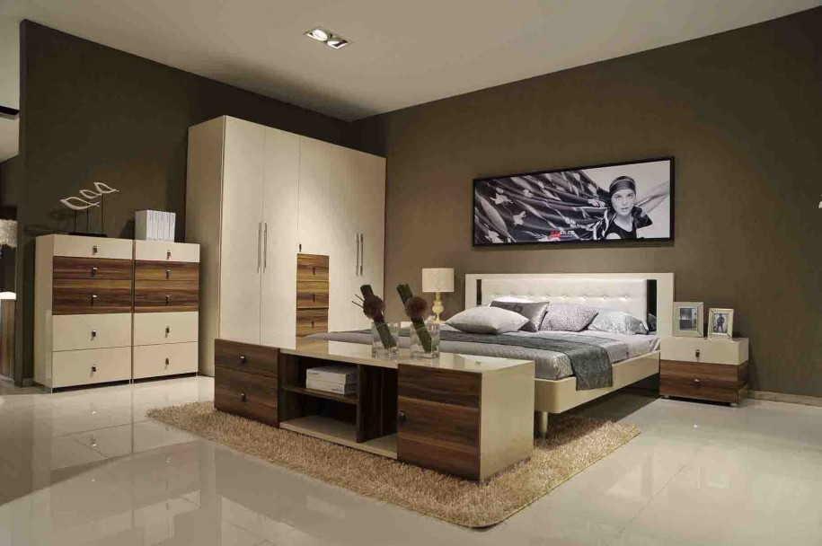 Here Is An Some Picture For Brown And White Bedroom Ideas This Design That Will Create A Calming Relaxing E