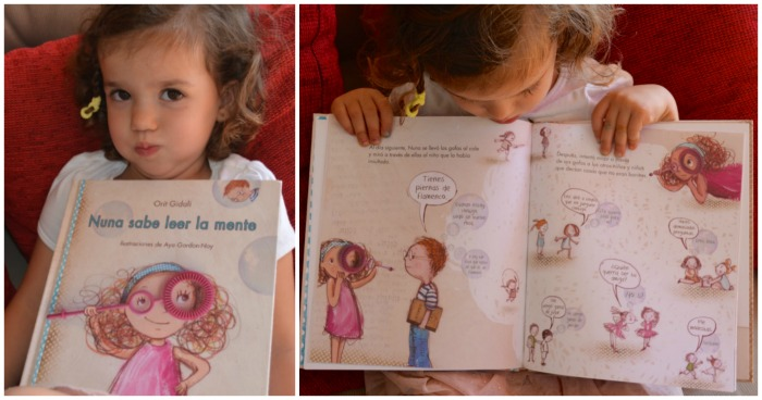 prevenir bullying o acoso escolar, cuento Nuna sabe leer mente