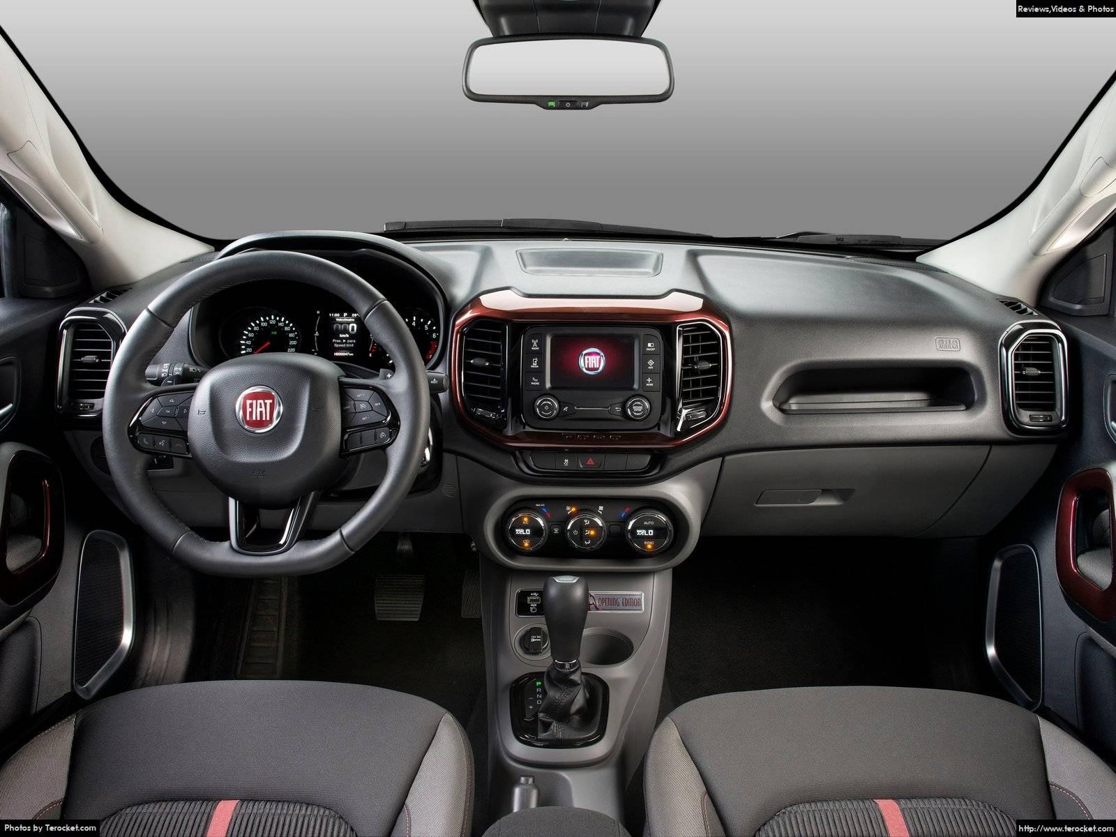 Hình ảnh xe ô tô Fiat Toro 2016 & nội ngoại thất