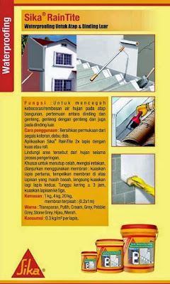 Waterproofing SIKA RainTite