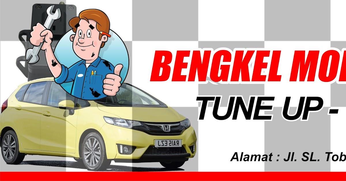 Contoh Spanduk Bengkel Motor.cdr   KARYAKU