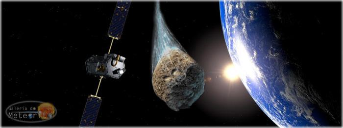 asteroide passa raspando na terra