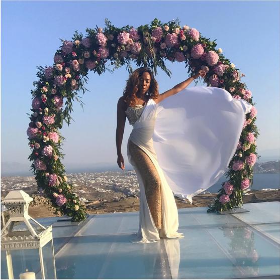 Stephanie-Coker-Olumide-Aderinokun-white-wedding-Mykonos-Greece-8