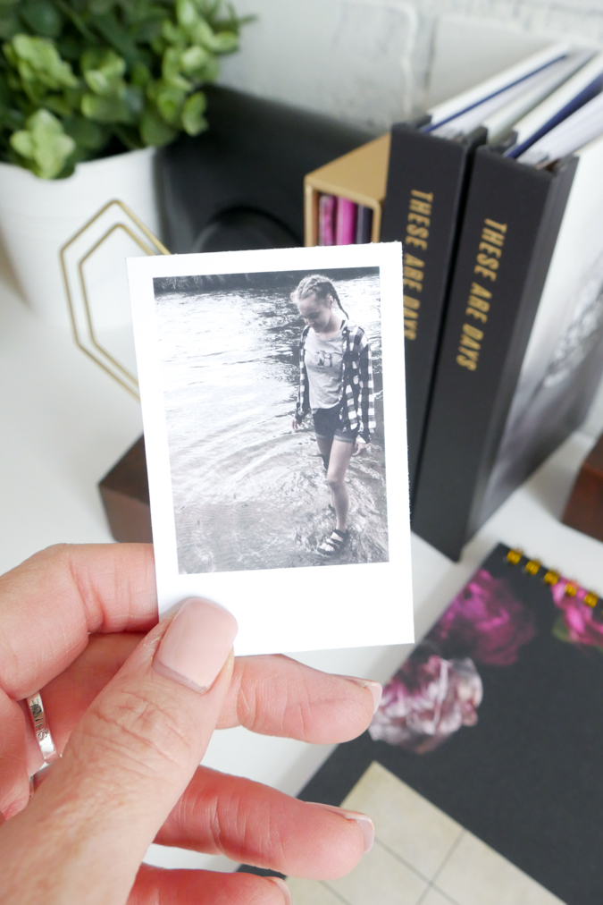 Free Mini Photo DIY Template + new Heidi Swapp Instax Vintage Collection by Jamie Pate | @jamiepate for @heidiswapp