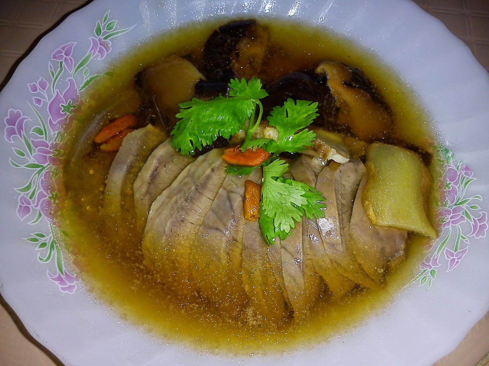 Dong quai soup