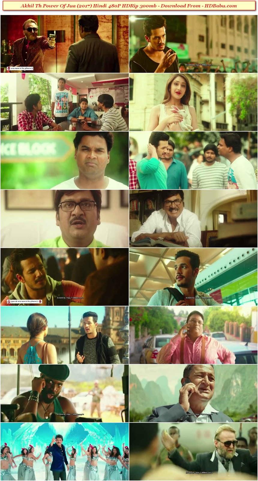 Akhil The Power of Jua Hindi Dubbed Movie Downloa
