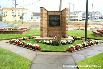 City of North Wildwood Veterans Park and Memorial in New Jersey