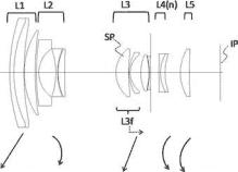 "Оптическая схема объектива Canon 13-65mm f/2-5.8 для сенсора 1.5"""