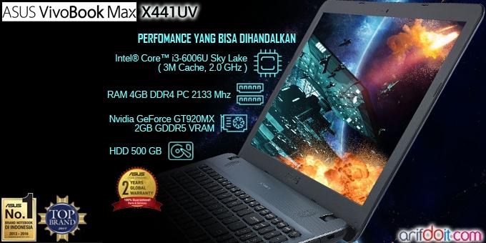 ASUS VivoBook Max X441UV Pilihan Bijak Untuk Pendidikan Anak