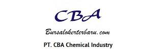 Lowongan Kerja Banten : PT.CBA Chemical Industry - Administrasi Umum