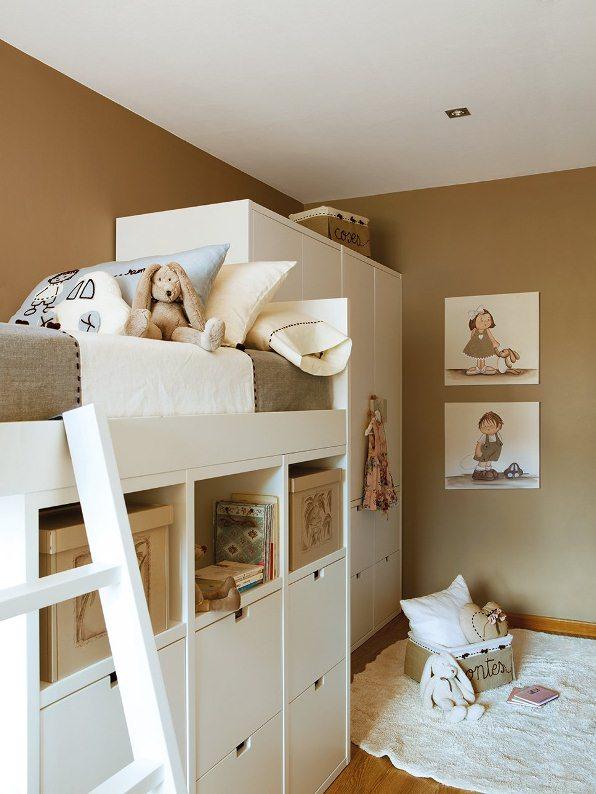 Ideas para mantener ordenado el dormitorio de tu hijo for Decoracion cuartos pequenos ninos