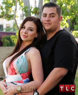 Jorge and Anfisa from 90 Day Fiancee, now repped by talent agencies