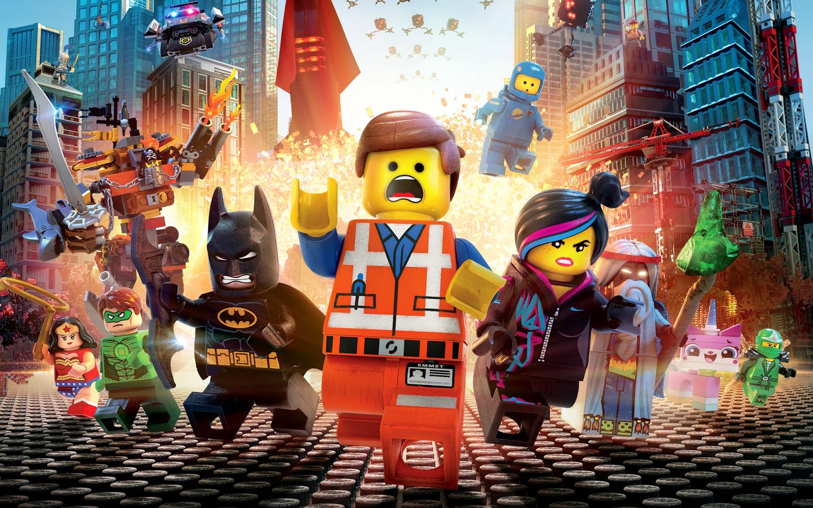HD poster Lego movie wallpaper