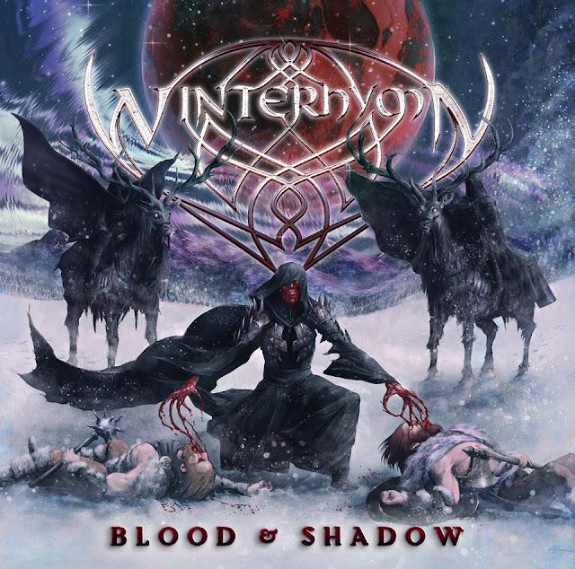 Detail from Winterhymn New Album, Blood & Shadow, Detail from Winterhymn New Album Blood & Shadow