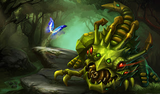 Chinese Caterpiller Kog'Maw Skin