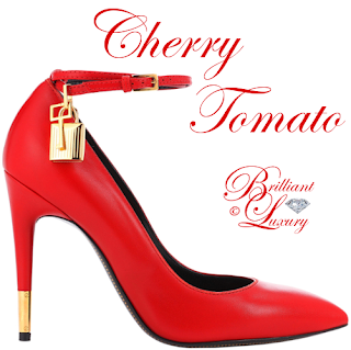 Brilliant Luxury ♦ Pantone Spring 2018 Top 12 Color Palette ~ Cherry Tomato