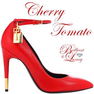 Brilliant Luxury ♦ Pantone Spring 2018 Top 12 Color Palette ~ Cherry Tomato