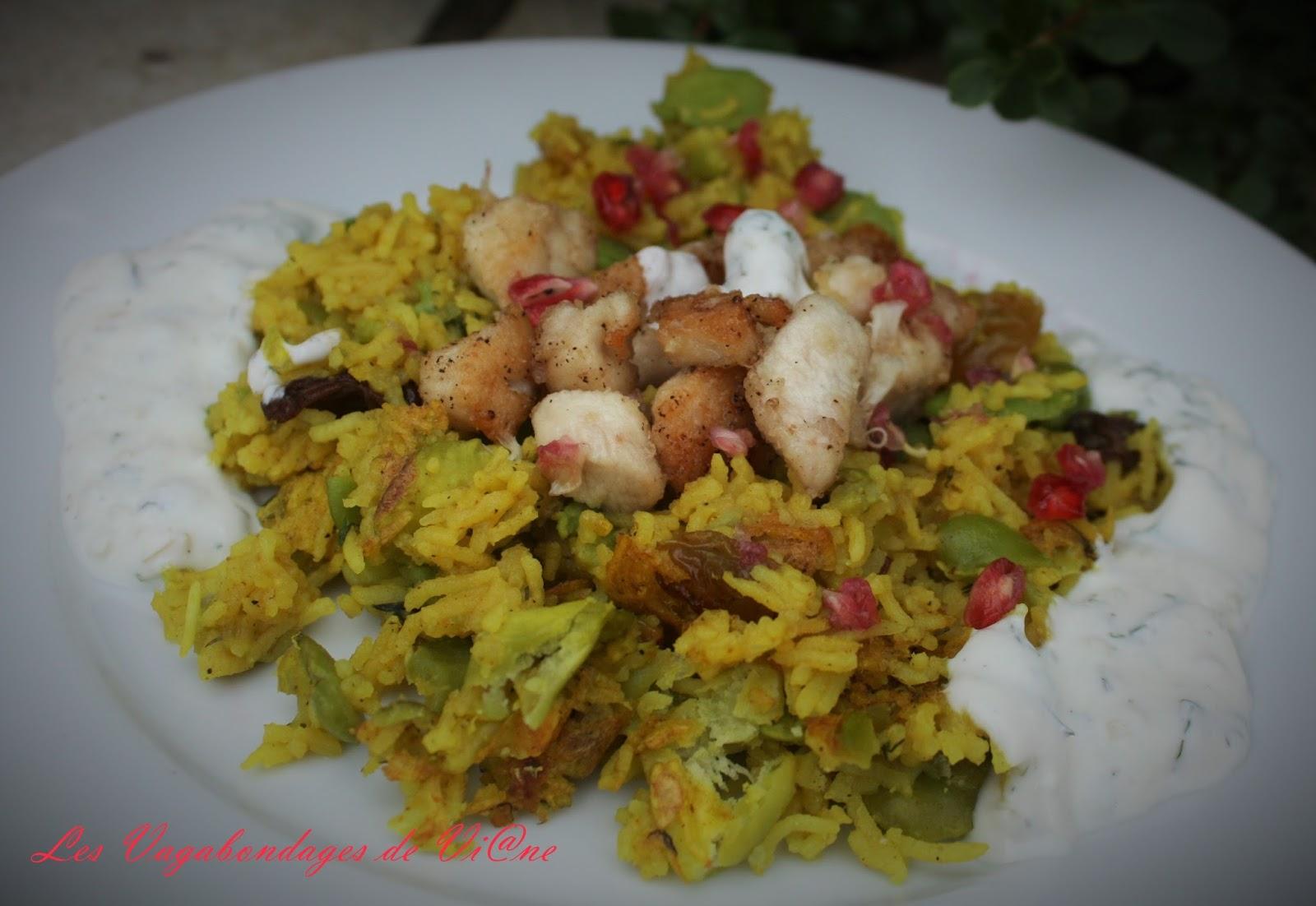 Les vagabondages de vi ne timman bagilla riz aux f ves - Comment cuisiner les feves surgelees ...
