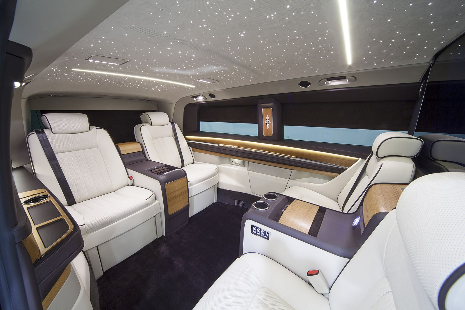 Okcu S Mercedes V Class Is A Private Jet On Wheels