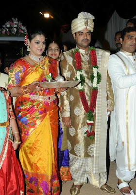 Producer Giri Daughter Wedding Stills _6_