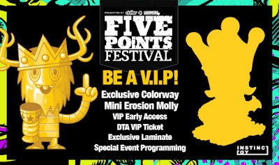 Five Points Festival 2018 & 8th Annual Designer Toy Awards VIP Tickets Are Available Now