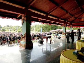 Bupati Kukuhkan Ratusan Kerame Desa dan Kecamatan