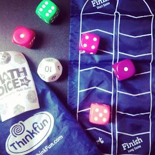 Math Dice de Think Fun jugar y matemáticas cálculo