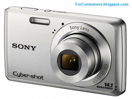 Sony Cyber-shot W520 camera price, review and specs