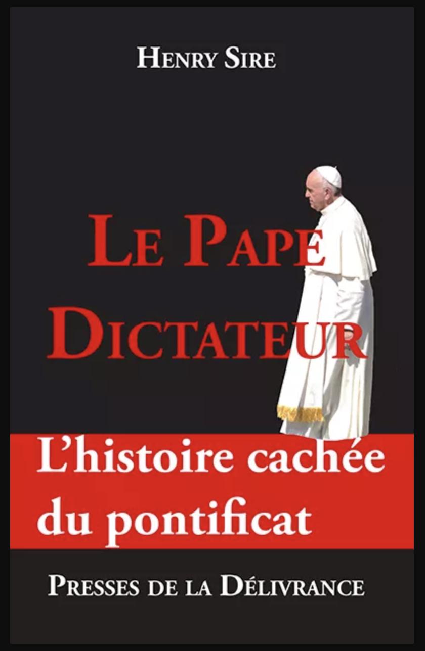 """""""Le pape dictateur"""" est sorti !"""