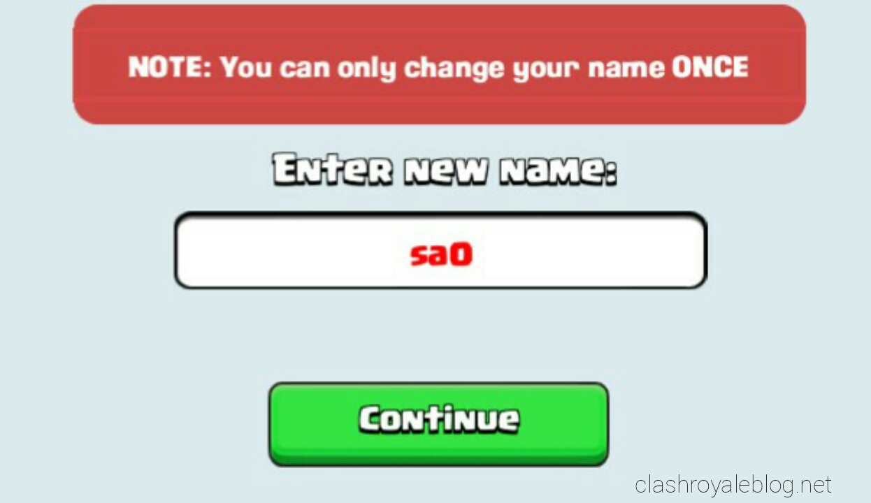 How to Change Colored Name