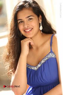 Actress Prasanna Stills in Blue Short Dress at Inkenti Nuvve Cheppu Movie Platinum Disc Function  0099.JPG