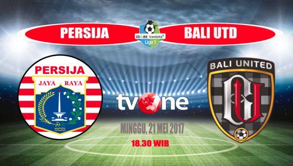 Persija Jakarta vs Bali United Imbang 0-0
