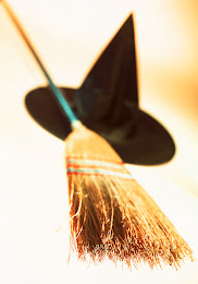 Hat and broom
