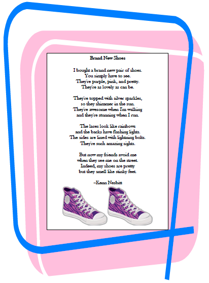 Brand New Shoes Poem