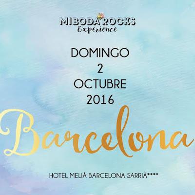 Mi Boda Rocks Experience Barcelona octubre 2016