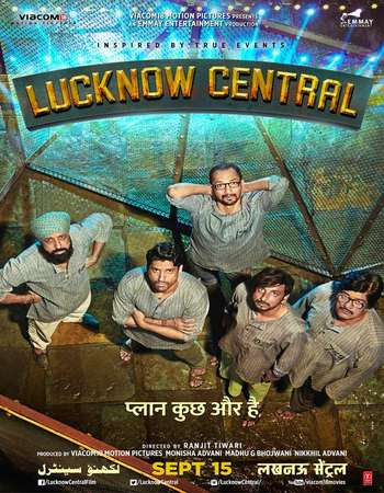 Watch Online Bollywood Movie Lucknow Central 2017 300MB DVDRip 480P Full Hindi Film Free Download At WorldFree4u.Com