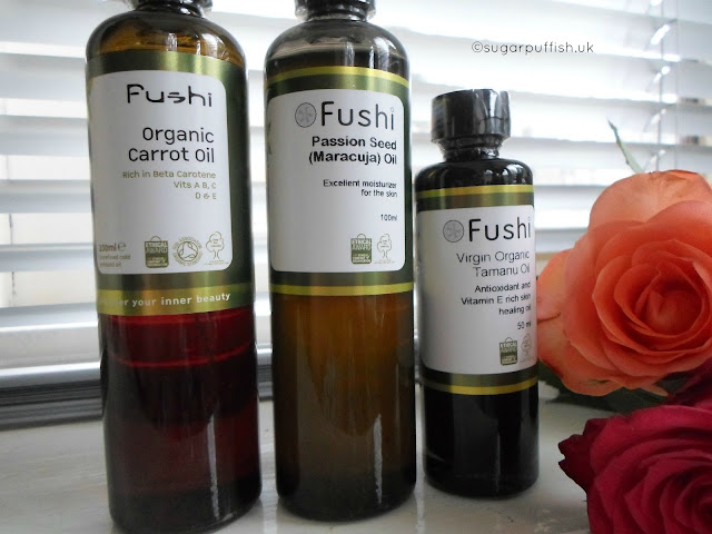 Review Fushi Carrot Oil Passion Seed Oil Tamanu Oil Organic
