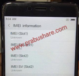 Mengatasi IMEI dan Sinyal Hilang di Xiaomi Redmi 4X setelah di Root Menggunakan SuperSu