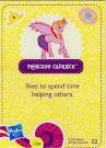 My Little Pony Wave 5 Princess Cadance Blind Bag Card