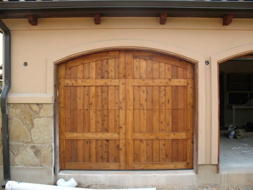Custom Garage Doors Arizona & Colorado: Custom Wood Garage