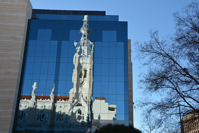 Basilica de la Conception Madrid reflection