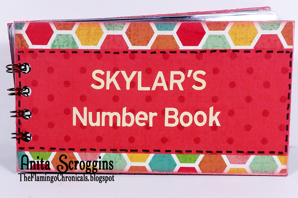 Toddler number book
