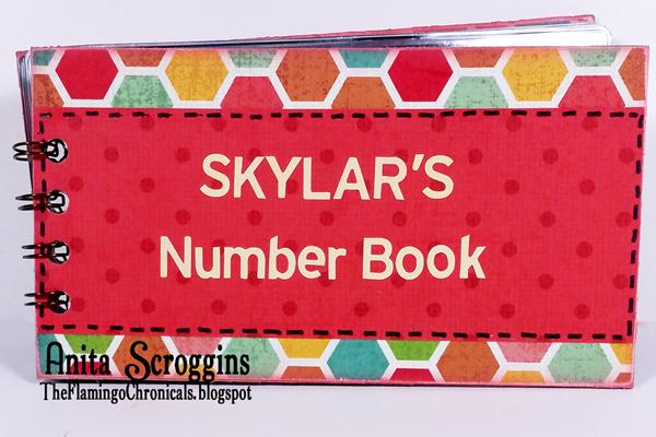 Toddler number book