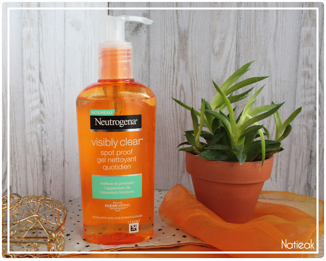 Gel nettoyant Visibly clear de Neutrogena
