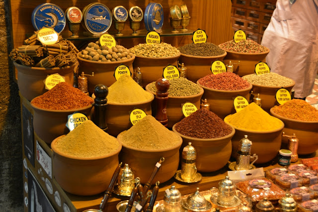 Egyptian Market Istanbul Spices