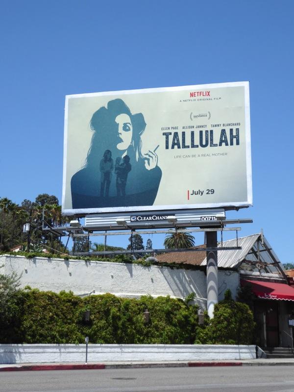 Tallulah movie billboard